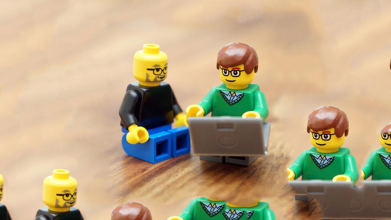 Lego Jobs und Gates