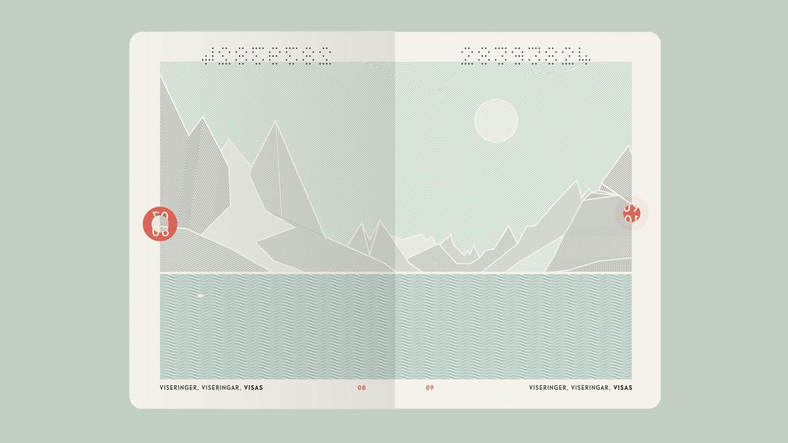 Norwegen - Reisepass - Lead