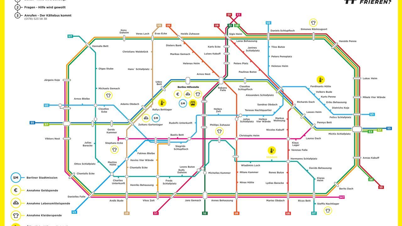 U-Bahn Berlin Kältebus