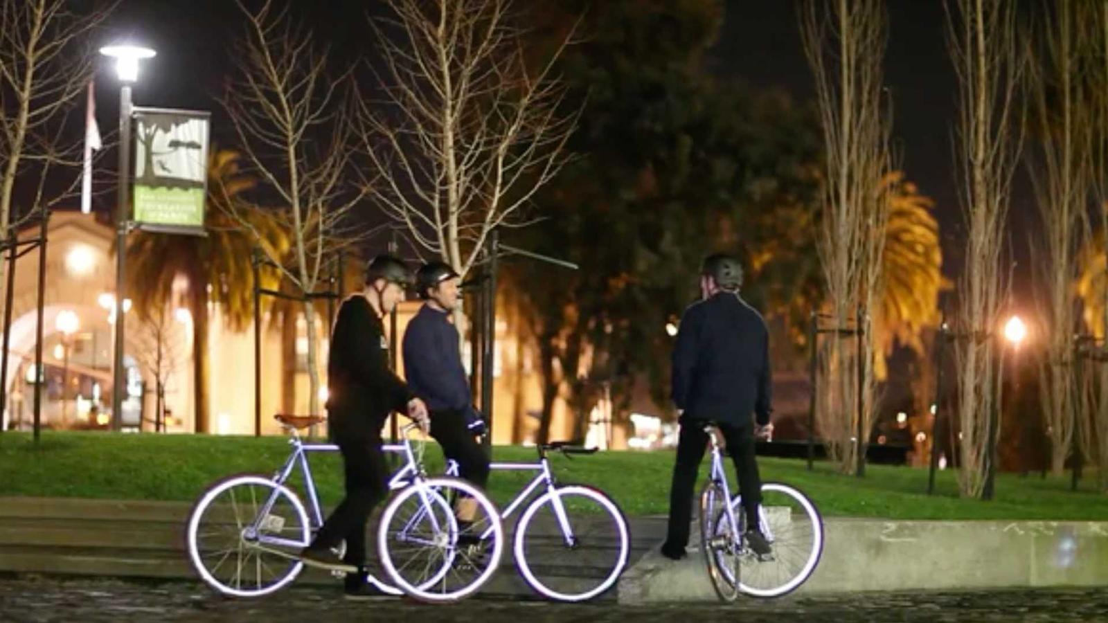 lumen reflektierendes fahrrad verspricht mehr sicherheit und die nacht sie leuchtet das filter. Black Bedroom Furniture Sets. Home Design Ideas