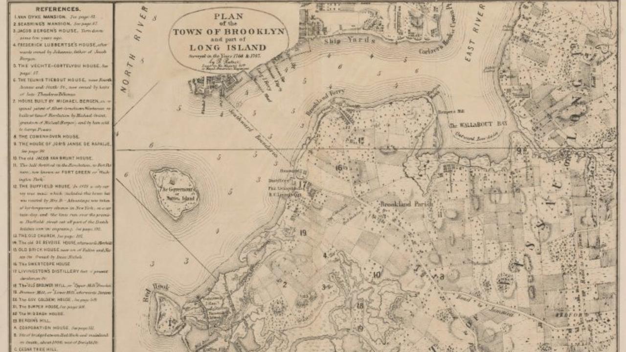Brooklyn Karte