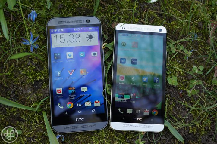 HTC One M7 vs M8