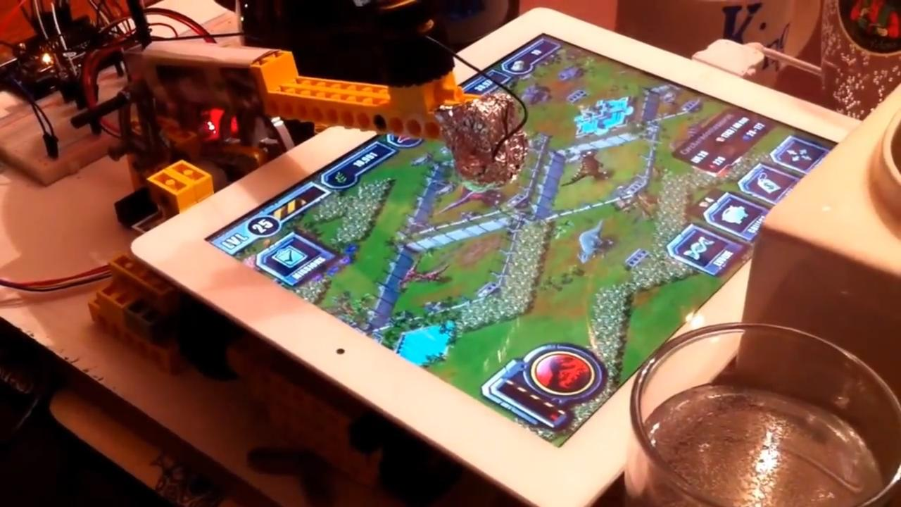 Lego Technic iPad Hack