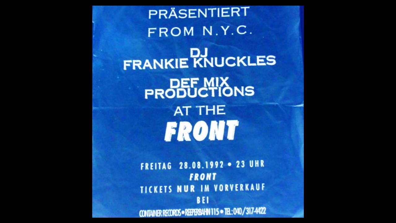 Mix der Woche Frankie Knuckles