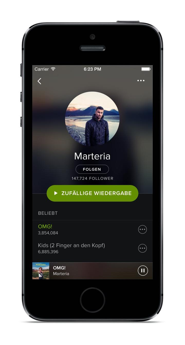 Spotify Redesign 02