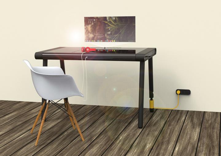 C Walker Smart Table