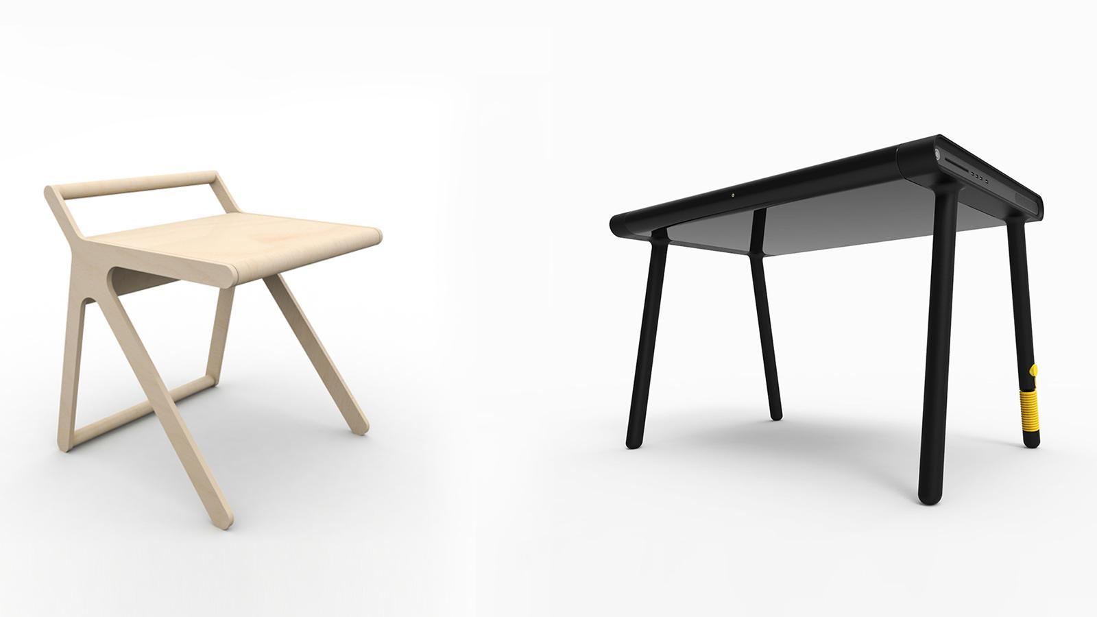 C Walker vs K Desk