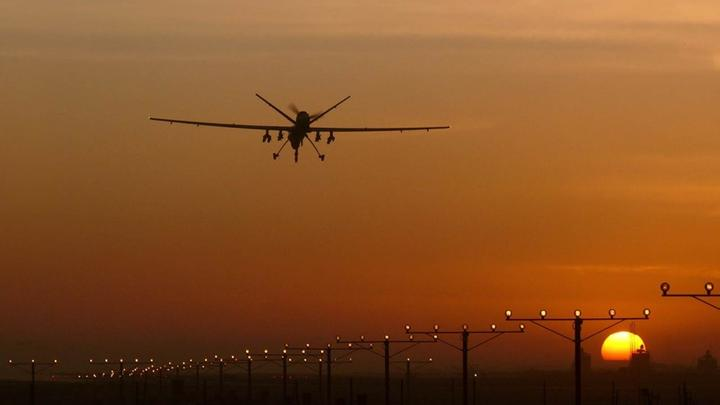 Drone Sonnenuntergang