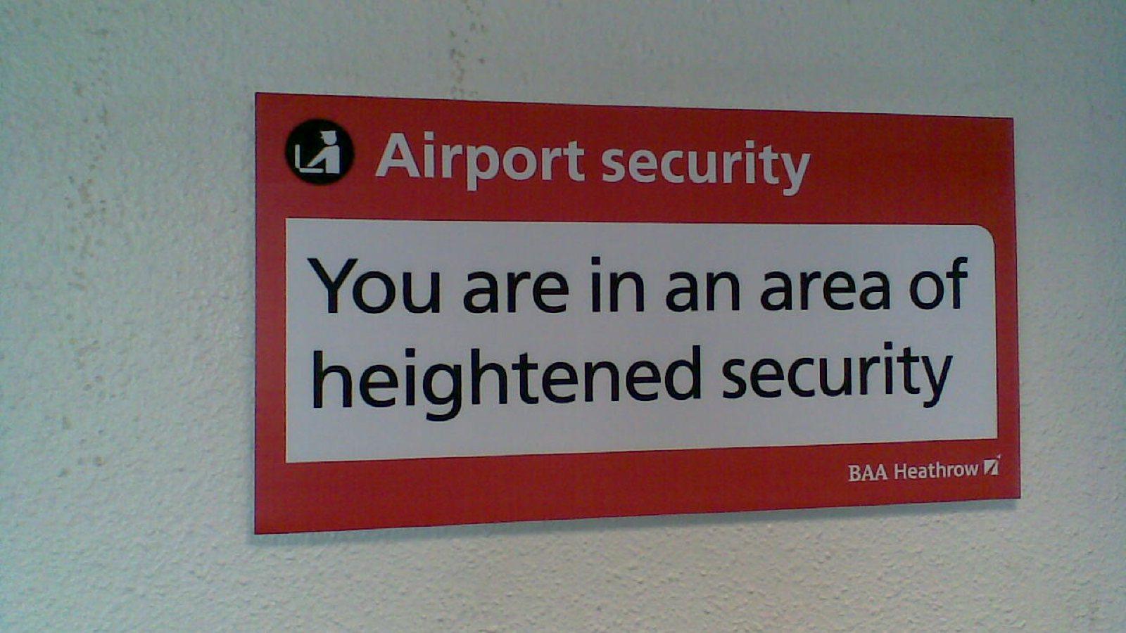 Flughafen Sicherheit