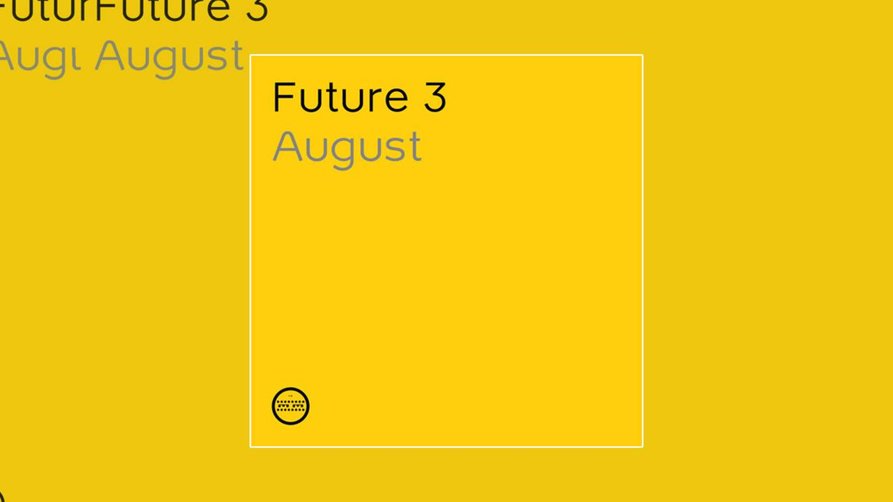 Future 3 - August - Cover