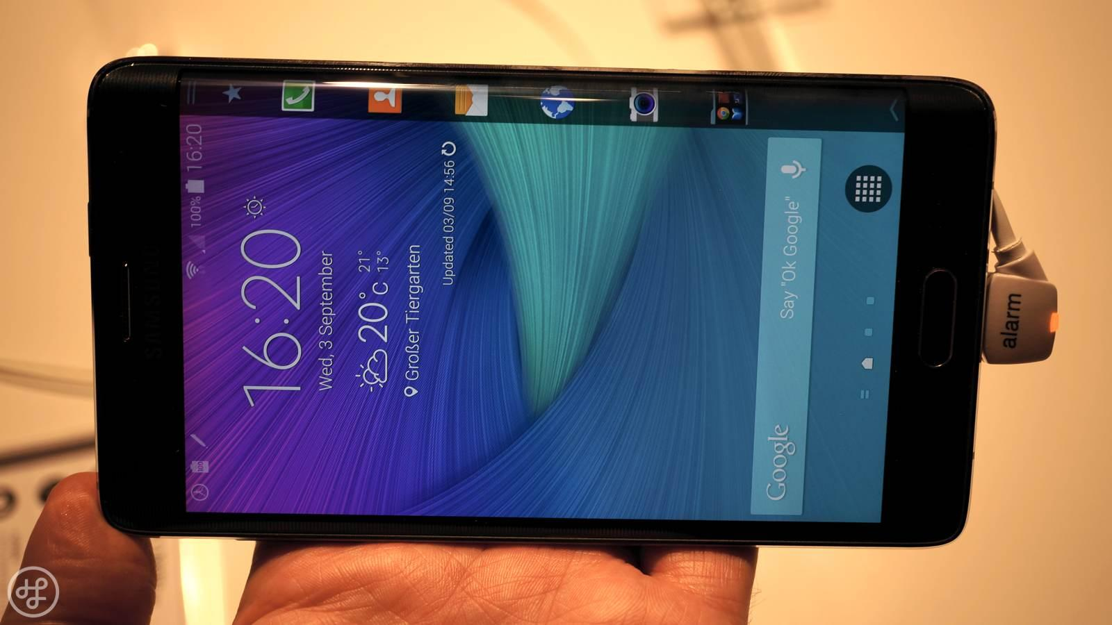 Galaxy Note Edge - lead
