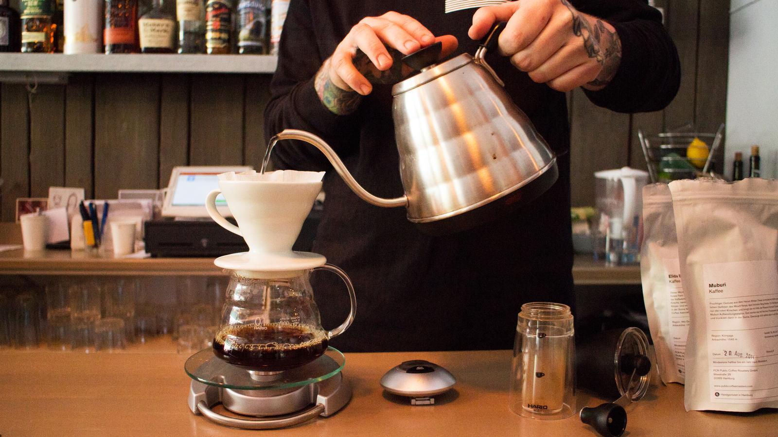 Filterkaffee Aufguss