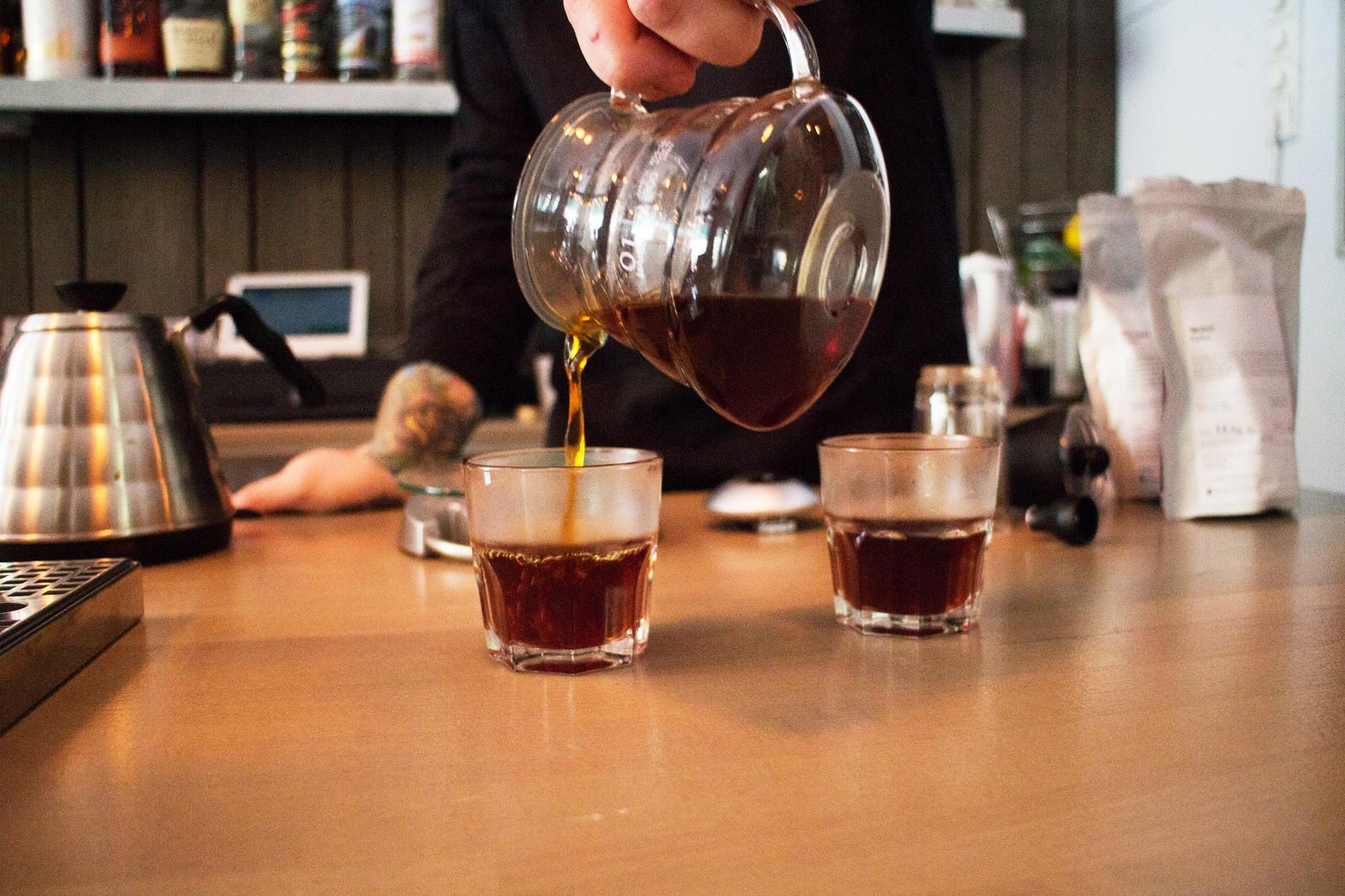 Filterkaffee im Filterhouse