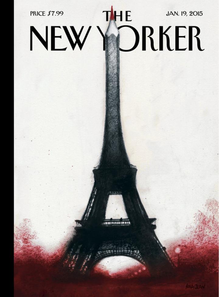 New Yorker Cover Januar 2015