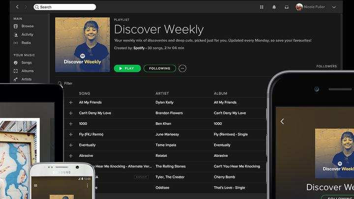 Spotify Discover Weekly Press Pic Leseliste
