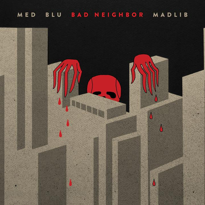 MED Blu Madlib Bad Neighbor Cover Walkman