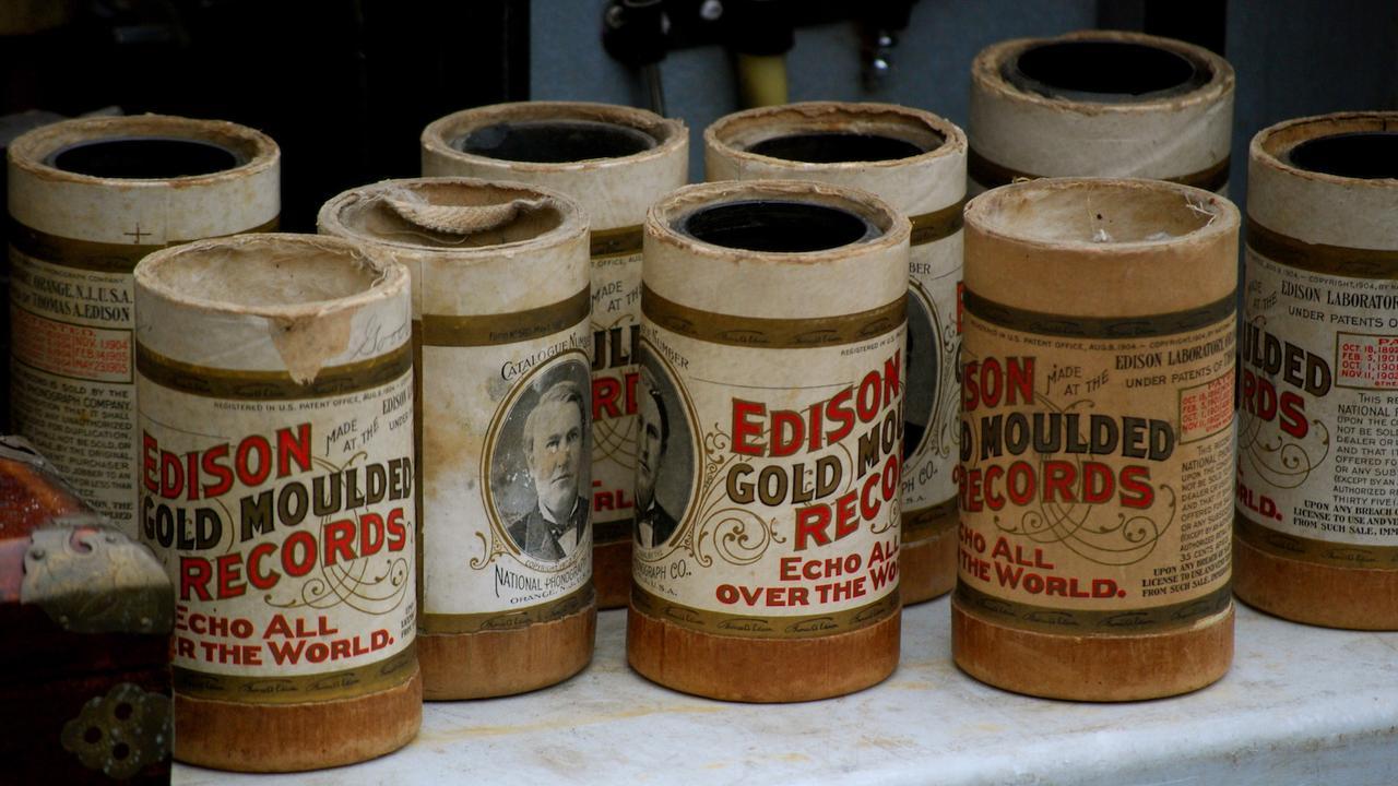 Edison Wachswalze