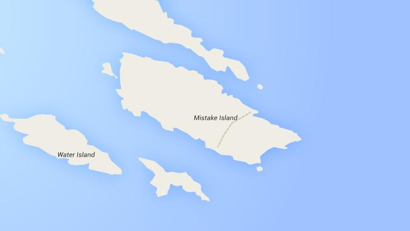 Sad Topographies Mistake Island