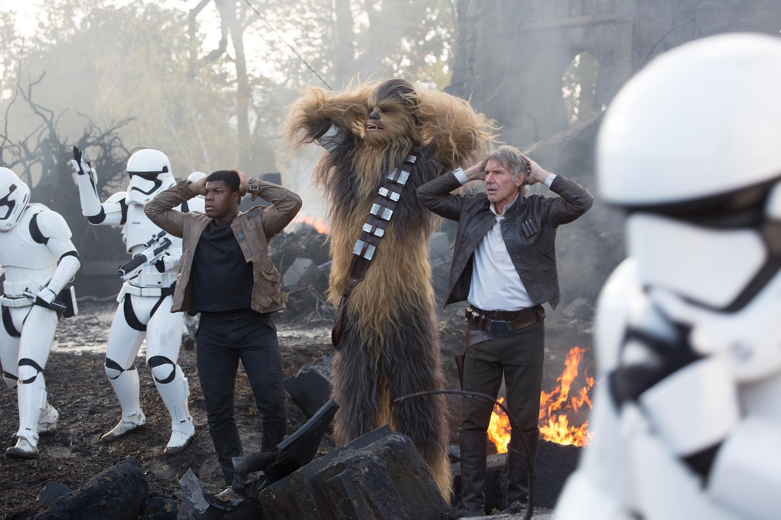 Star Wars Episode 7 hände hoch
