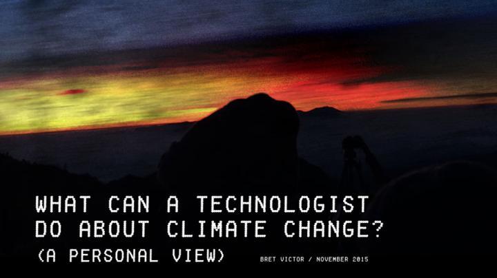 Technologist Climate Change Leseliste 20122015