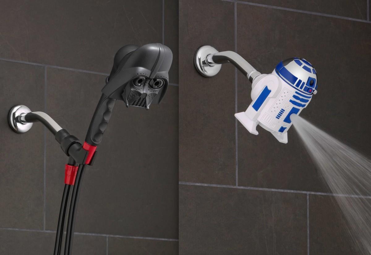 Hängengeblieben 2015 Star Wars Duschkopf