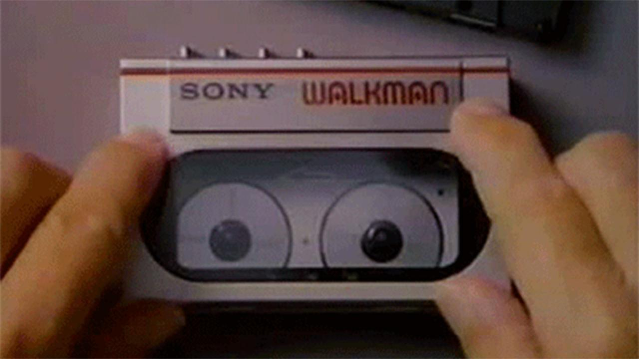 sony Walkman oldschool