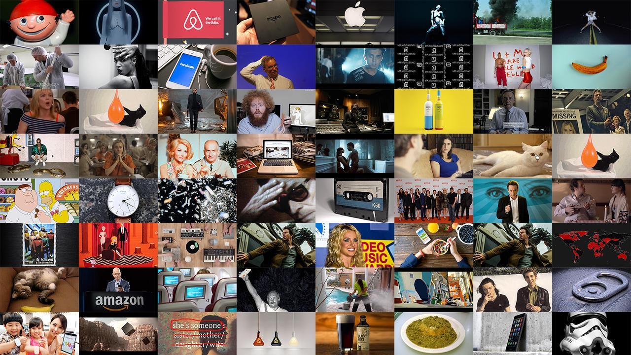 Kuratieren Collage