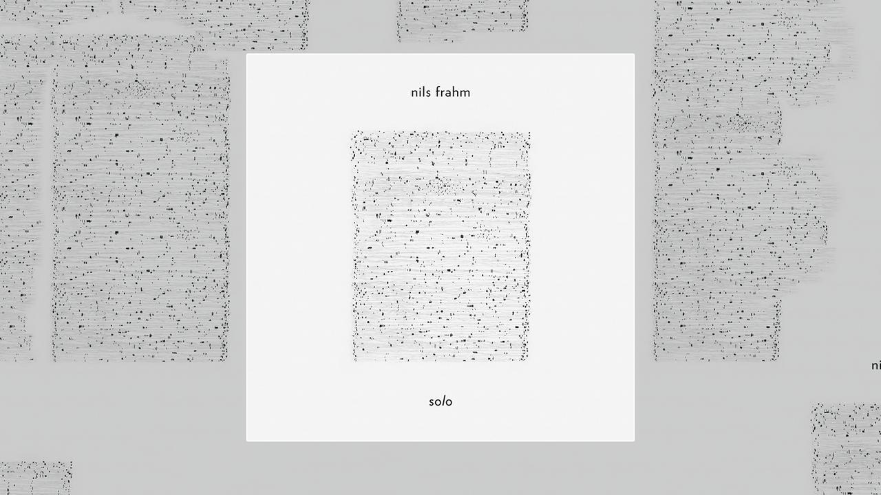 Nils Frahm - Solo