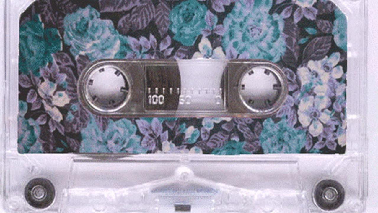 Wochenend-Walkman Cassette Flowers