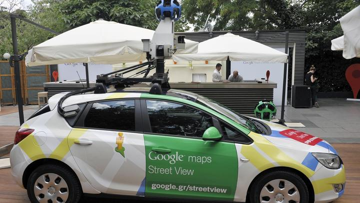 Google Street View Auto - Leseliste