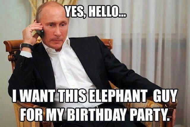 Ten Walls Meme Putin