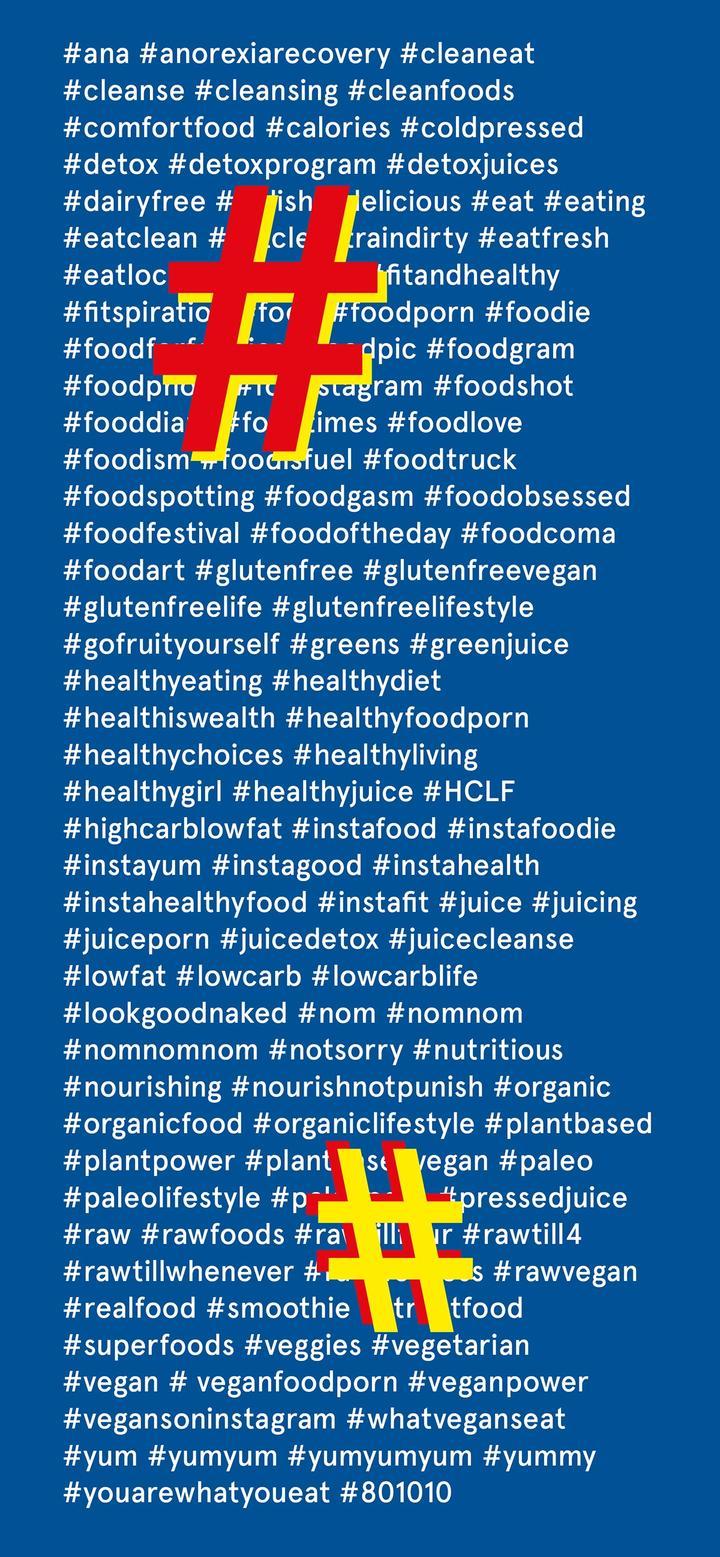 Kulinarisches Unbehagen - Hashtags