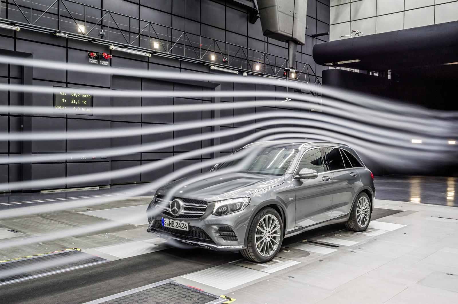 Mercedes GLC Windkanal