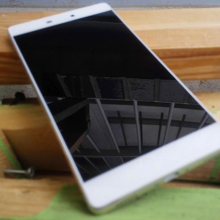 Huawei auf Holz