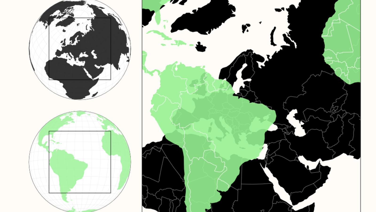 Gute Karten Weltkarten overlay