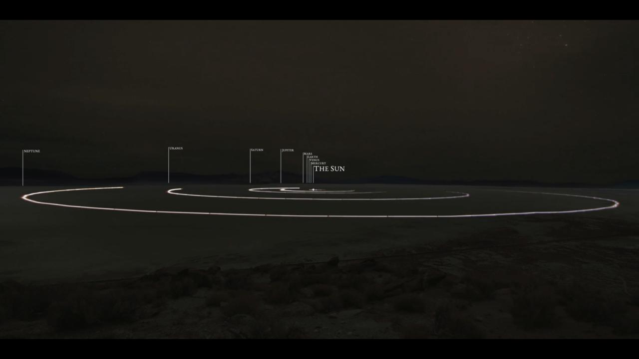 Murmel-Sonnensystem start