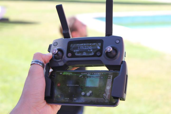 Drohnen Politik DJI Mavic Pro Remote