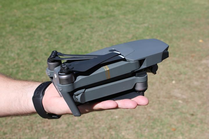 Drohnen Politik DJI Mavic Pro zusammengefaltet
