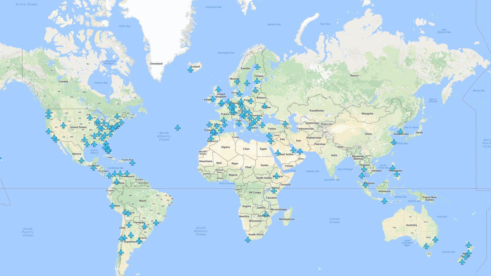 Gute Karten WiFi Airport Google Maps