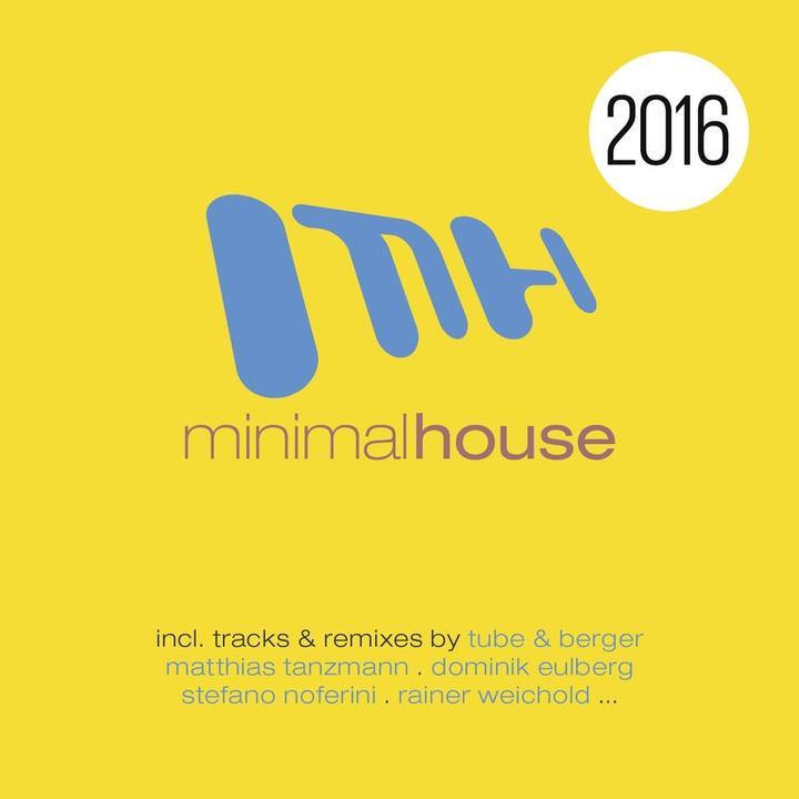 Minimal House 2016 Walkman Cover
