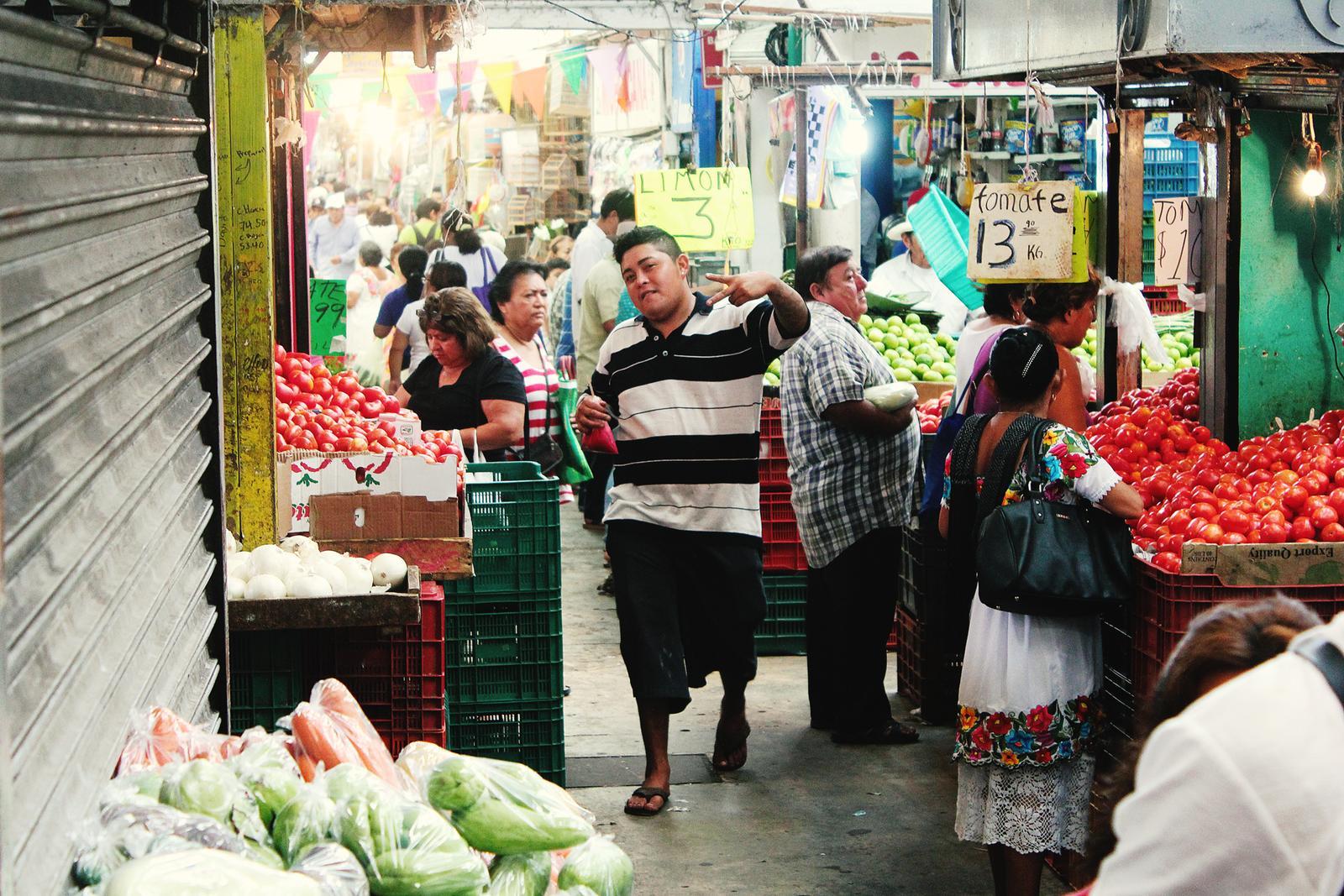 Mexiko Merida Markt Gangster