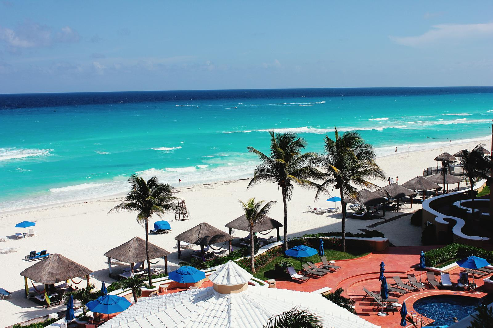 Mexiko Ritz Carlton Strand Cancun