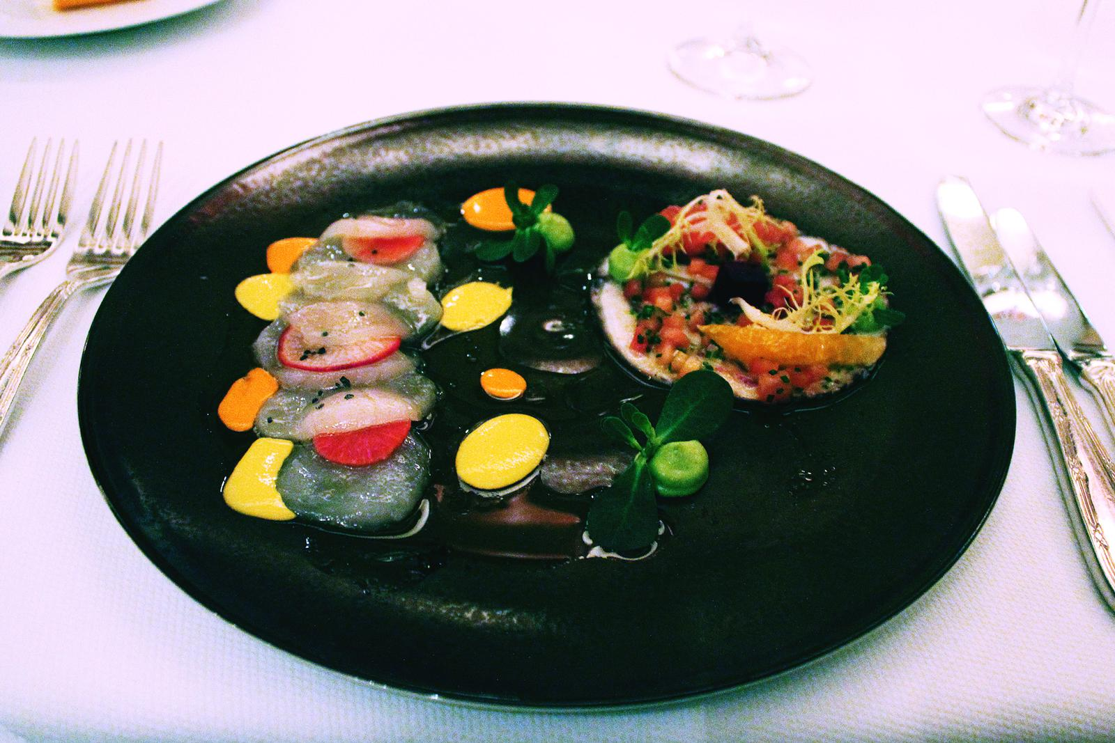 Mexiko Ritz Carlton Tintenfisch