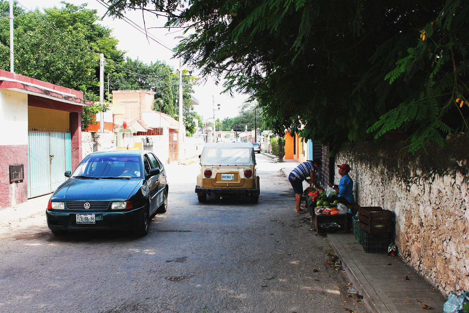 Mexiko Straßenstand Valldolid