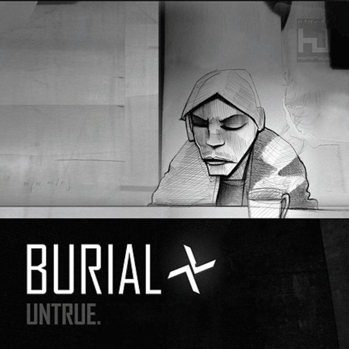 Burial Untrue Cover