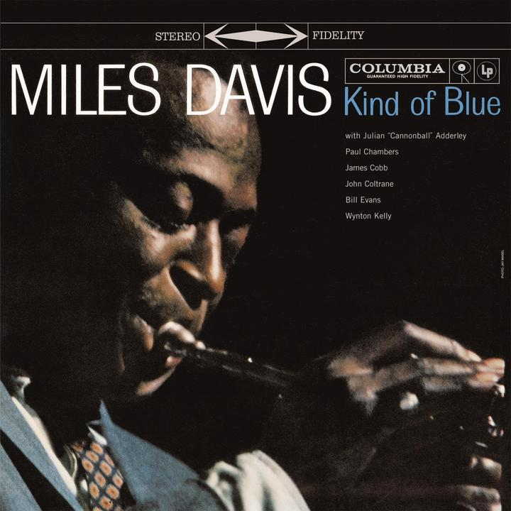 Miles Davis Kind Of Blue Cover