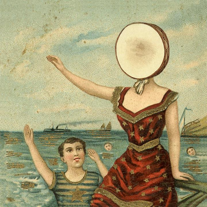 The Neutral Milk Hotel In The Aeroplane Over The Sea Cover