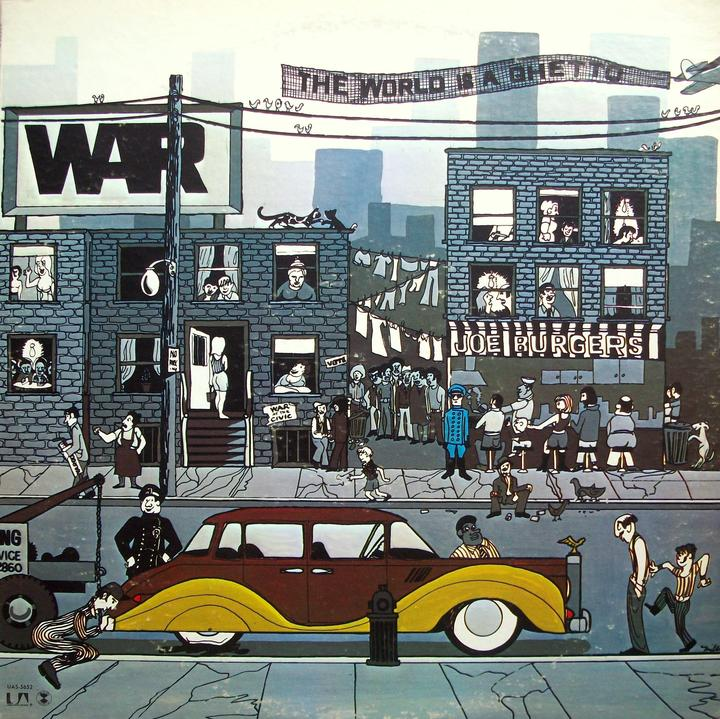 War The World Is A Ghetto Cover