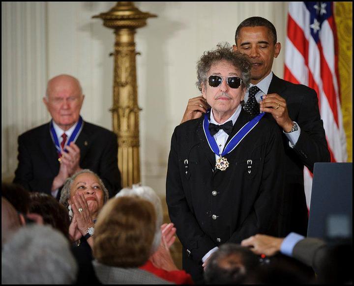 Hängengeblieben 2016 Bob Dylan