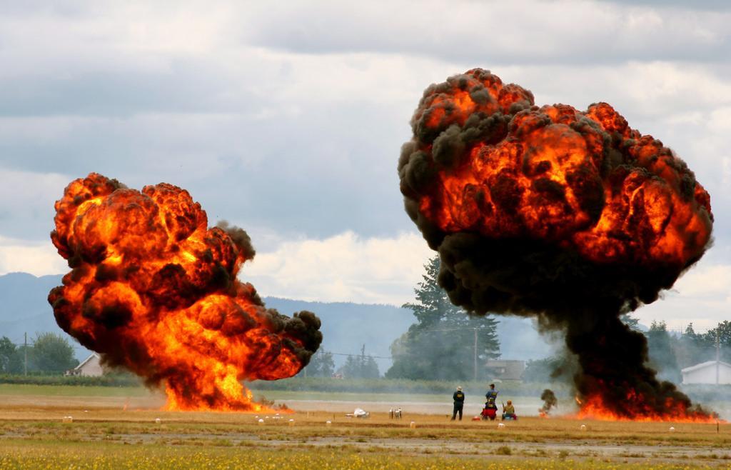 Hängengeblieben 2016 Explosion